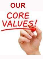 Painting Contractor core values statement